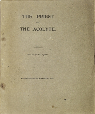 The Priest and the Acolyte. John Francis Bloxham