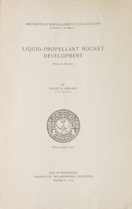 Liquid-Propellant Rocket Development