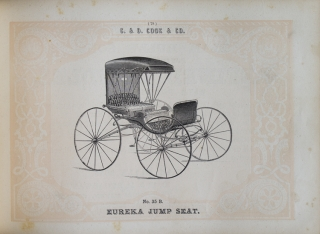 G. & D. Cook & Co.'s Illustrated Catalogue of Carriages and Special Business Advertiser