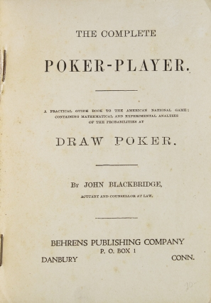 The Complete Poker Player