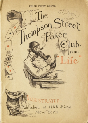 "The Thompson Street Poker Club from ""Life"" Henry Guy Carleton"