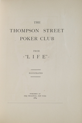 "The Thompson Street Poker Club from ""Life"""