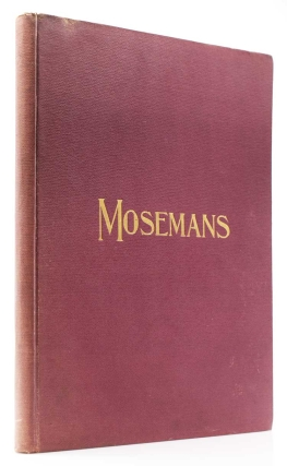 Moseman's Illustrated Guide for Purchasers of Horse Furnishing Goods, Novelties and Stable Appointments, Imported and Domestic