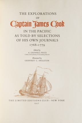 The Explorations of Captain James Cook in the Pacific