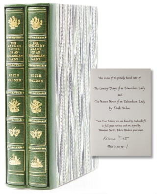 The Nature Notes of an Edwardian Lady, and the Country Diary of an Edwardian Lady. Edith Holden