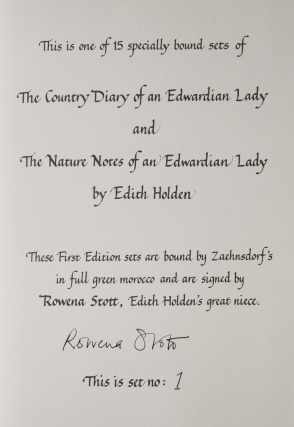 The Nature Notes of an Edwardian Lady, and the Country Diary of an Edwardian Lady