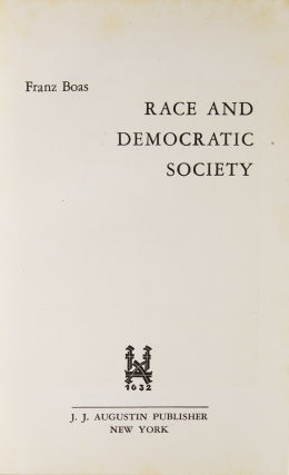 Race and Democatric Society