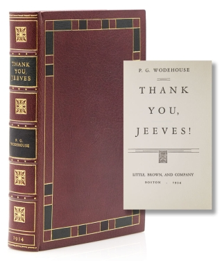 Thank You, Jeeves. P. G. Wodehouse