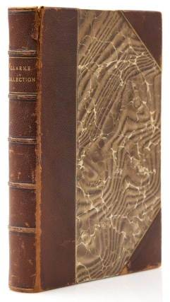 Illustrated catalogue of a notable collection of beautiful English Furniture of the XVII and XVIII centuries. The collection formed by Mr. Thomas B. Clarke and acquired by the Tiffany Studios, for whose account the collection will be sold at unrestricted public sale. Catalogued by Luke Vincent Lockwood