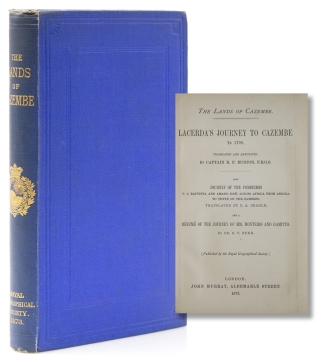 The Lands of Cazembe. Acerda's Journey to Cazembe in 1798. Translated and Annotated by Capt....
