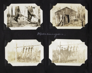 [Photograph Album, Trout and Salmon Fishing and Hunting in Maine and Canada]