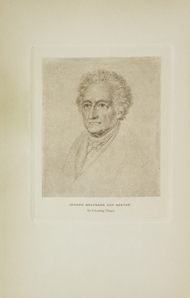 Goethe: The History of a Man, 1749-1832