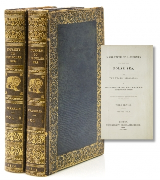 Narrative of a Journey to the Shores of the Polar Sea, in the Years 1819-20-21-22. Capt. John...