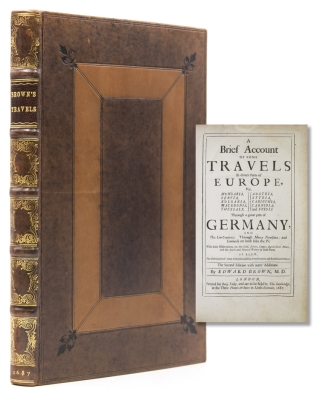 A brief account of some travels in divers parts of Europe, viz. Hvngaria, Servia, Bvlgaria,...
