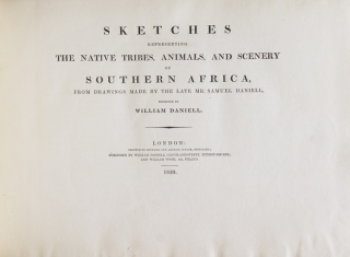 Sketches Representing the Native Tribes, Animals, and Scenery of Southern Africa