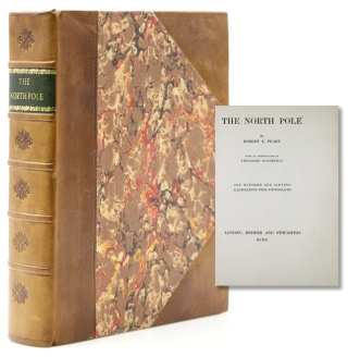 The North Pole. With an introduction by Theodore Roosevelt. Robert E. Peary