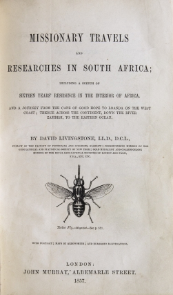 Missionary Travels and Researches in South Africa; Including a Sketch of Sixteen Years' Residence in the Interior of Africa and a journey from the Cape of Good Hope to Loanda on the west coast; thence across the continent, down the River Zambesi, to the Eastern Ocean
