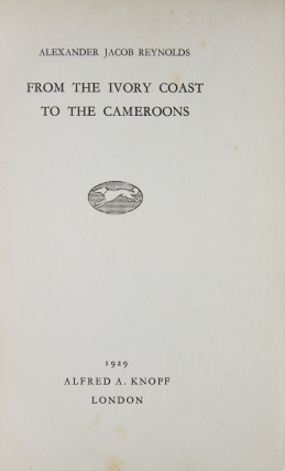 From the Ivory Coast to the Cameroons
