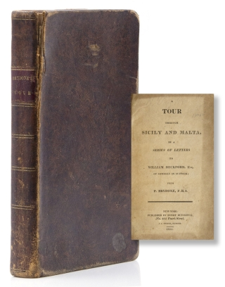A Tour Through Sicily and Malta in a Series of Letters to William Beckford. P. Brydone, at