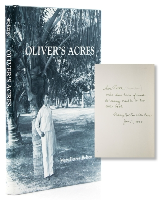 "Oliver's Acres. ""The Three VB's"" The Bingham, Blossom and Bolton Families in Palm Beach, Florida...."