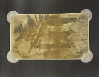 Trout Lake, Minn. Dec. 10-19, 1909 [cover title, stamped in gilt]