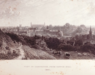 Cambridge Described & Illustrated Being a Short History of the Town and the University
