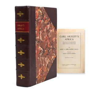 Carl Akeley's Africa. The Account of the Akeley-Eastman-Pomeroy African Hall Expedition of the...