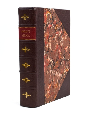 Carl Akeley's Africa. The Account of the Akeley-Eastman-Pomeroy African Hall Expedition of the American Museum of Natural History. Foreword by Henry Fairfield Osborn