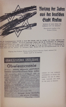 The Black Book of Polish Jewry. An Account of the Martyrdom of Polish Jewry under the Nazi Occuptaion