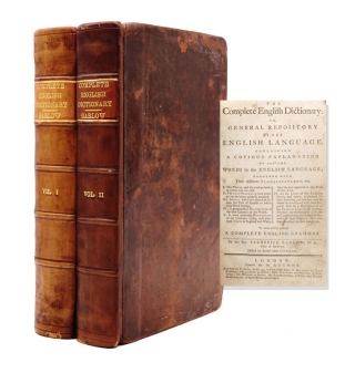 The Complete English Dictionary or, general repository of the English language. Containing A...
