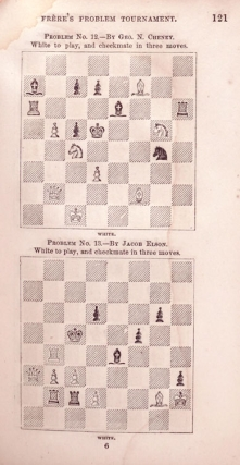 Morphy's Games of Chess and Frère's Problem Tournament