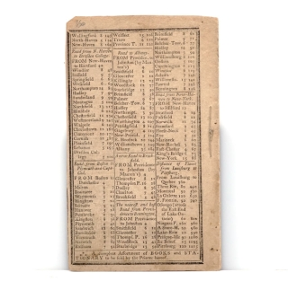 The New-England Almanack, Or Lady's and Gentleman's Diary, For the Year of our Lord Christ 1785... By Isaac Bickerstaff