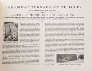 The Great Tornado at St. Louis on the evening of May 27th, 1896