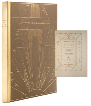 The Decorative Work of T.M. Cleland, A Record and Review. With a Biographical and critical...