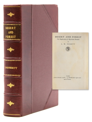 Desert and Foresst. The Exploration of Abyssinian Danakil. L. M. Nesbitt