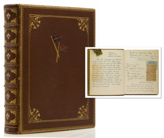 Manuscript diary of a yachting and bear-hunting trip to Alaska, inscribed at the head of the...