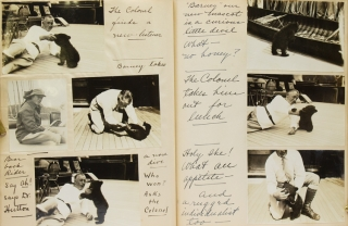 "[Manuscript diary of a yachting and bear-hunting trip to Alaska, inscribed at the head of the first page: ""Just a Shooting Trip to Alaska & a few of my comic friends"" and signed E.F. Hutton, May 9, 1934"""