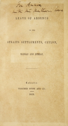 Leave of Absence in the Straits Settlements