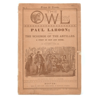 Paul Laroon; or, The scourge of the Antiles. A story of ship and shore. Sylvanus Cobb, Jr