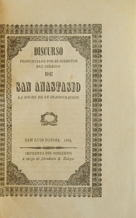 [Sammelband of 54 pamphlets or circulars, largely relating to government affairs, constitutional meetings, elections, revolts, etc., plus a few related to smallpox or other health concerns]