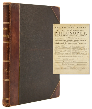 A Course of Lectures in Natural and Experimental Philosophy, Geography, and Astronomy: in which...