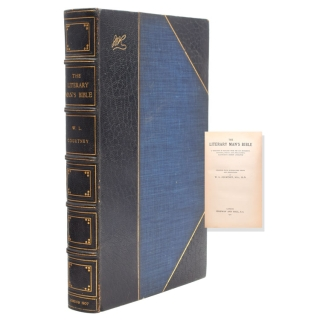 The Literary Man's Bible. W. L. Courtney