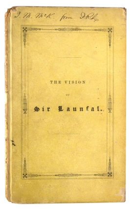 The Vision of Sir Launfal. James Russell Lowell