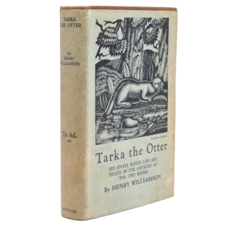 Tarka the Otter. His joyful water-life and death in the country of the two rivers