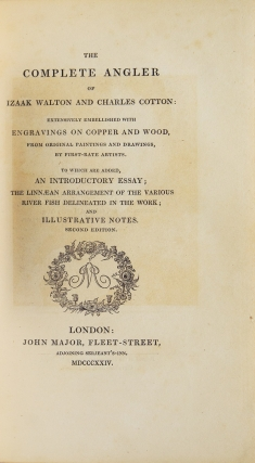 The Complete Angler of Izaak Walton and Charles Cotton