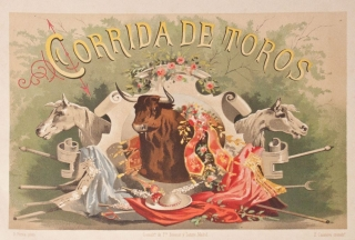 Corrida de Toros. Bullfighting.