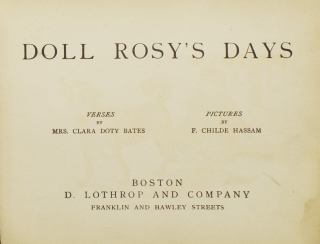 Doll Rosy's Days and Rainy Day Plays