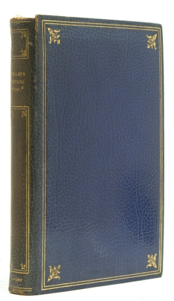 The Complete Poetical Works…Edited by Thomas Hutchinson. Shelley, sshe