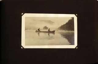 Photograph album of Scouting, camping, and other outdoor subjects