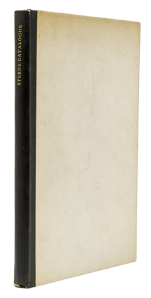 A Facsimile Reproduction of A Unique Catalogue of Laurence Sterne's Library. Preface by Charles...